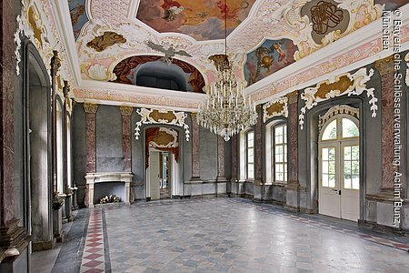 Eremitage, Altes Schloss, Marmorsaal, Bayreuth